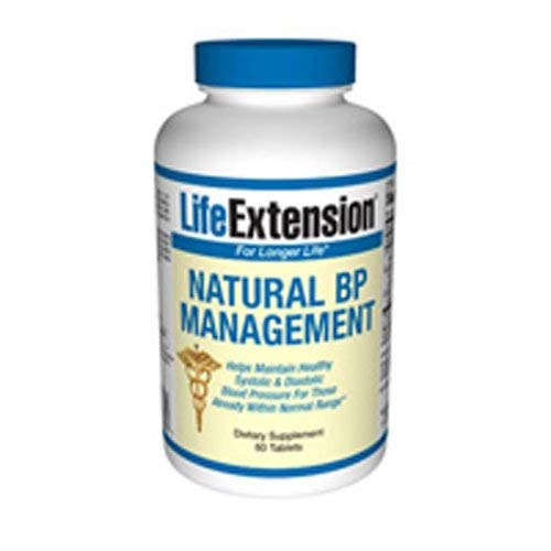Life Extension Optimal BP Management 60 Tablets (Pack of 2)