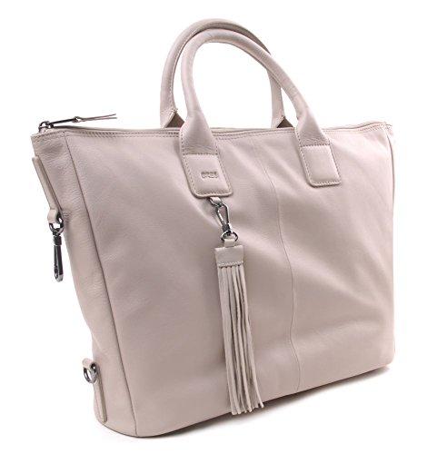 BREE Damen Jersey 4 S17 Tote, Grau (Cotton/Kitt), One Size