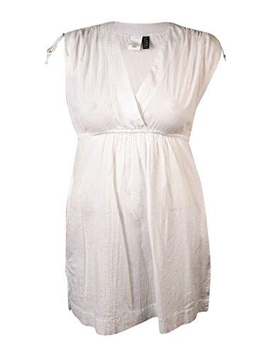 - LAUREN RALPH LAUREN Women's Farrah Dress Cover-Up, White, XL (US 16-18)