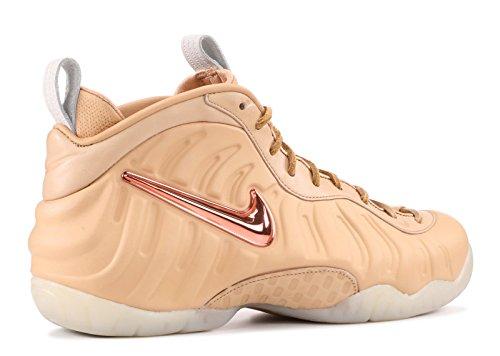 Nike Men Air Foamposite Pro Prm As Qs (tan / Vachetta Tan / Rose Gold-sail) Vachetta Tan, Rose Gold-sail