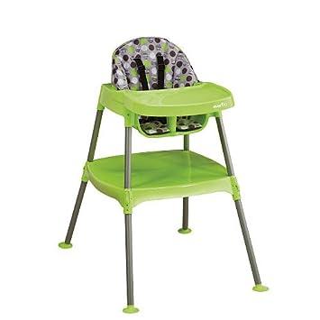 Delightful Evenflo Convertible High Chair   Dottie Green Lime