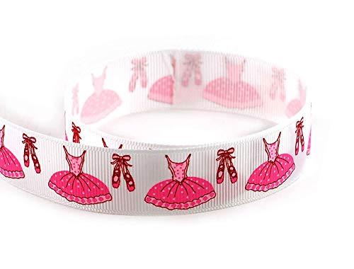 - Ballerina Ballet Tutu Dress Dance Shoes 10 Yard Grosgrain Polyester Ribbon 10 Yards 7/8