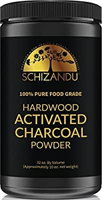 Activated Charcoal Powder, Food Grade Detox, Huge Jar, In Bulk, For Detoxification,Teeth Whitening, Digestive System, Daily Beauty Face Mask,To Prevent Hangover,Vegan,eBook