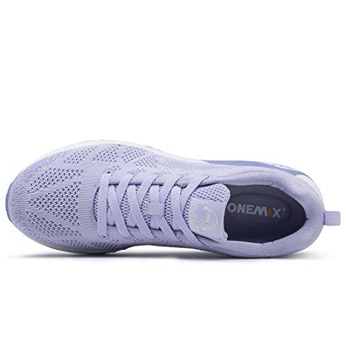 Onemix Hommes Tricot Modèle Sport Chaussures De Course