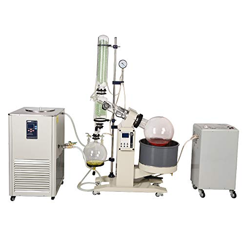 110V HNZXIB 5L Rotary Evaporator with Chiller and Vacuum Pump