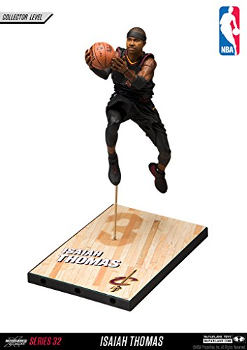 McFarlane Toys Nba Series 32 Isiah Thomas Cleveland Cavaliers Silver Level Black Uniform Collectible Action Figure - Limited to 750 pieces by McFarlane Limited Edition