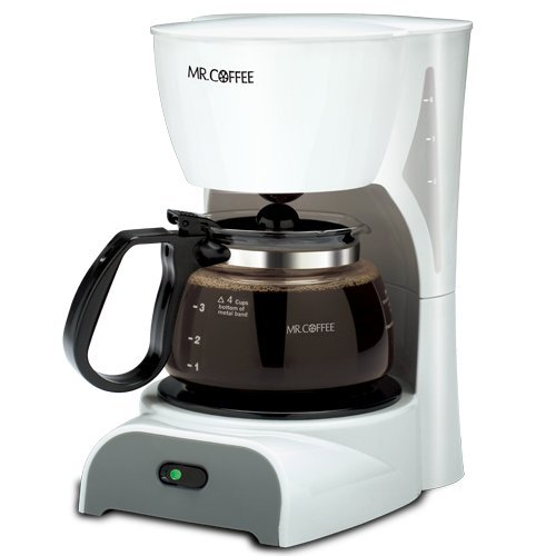 Mr. Coffee Coffeemaker 4 Cup White