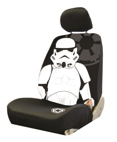 Storm Fit Bucket - Plasticolor 006933R01 'Star Wars Stormtrooper' Low Back Bucket Seat Cover