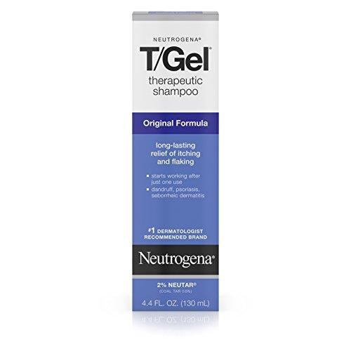 Neutrogena T/Gel Therapeutic Shampoo Original Formula, Dandruff Treatment, 4.4 Fl. Oz. (Shampoo Dandruff For)