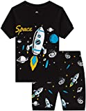 IF Family Boys Rocket Pajamas Baby Summer Clothes Toddler Kids Space PJs Short Sets 8t