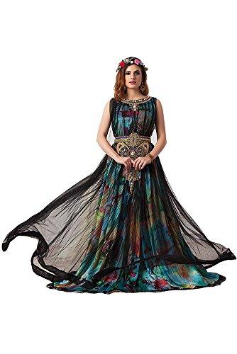 PalasFashion Damen Kleid schwarz schwarz tjkCoNQXv