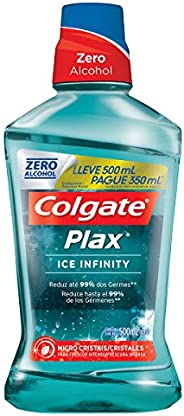 Enxaguante Bucal Colgate Plax Ice Infinity 500Ml Promo Leve 500Ml Pague 350Ml