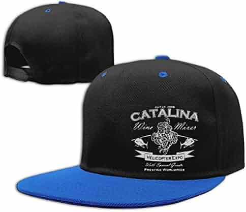 093659c7579b1 Catalina Wine Mixer Men Women Hip Hop Hat Trucker Flat Hats Adjustable  Snapback Hats