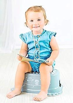 Taburete de paso para entrenamiento ni/ños antideslizante seguro para beb/é con capacidad azul Peppa Pig Blue