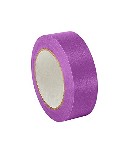 3M 501+ Purple 0.94'' x 60yd High Temperature Masking Tape, 0.94'' x 60 yd. Roll, Purple by 3M