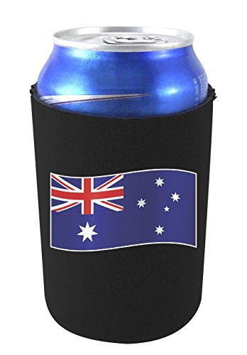 Beer Australia (World Countries Flag Neoprene Collapsible Can Coolie (Australia))