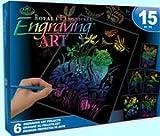 ROYAL BRUSH Rainbow Engraving Art Kit