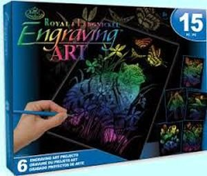ROYAL BRUSH Rainbow Engraving Art Kit by ROYAL BRUSH