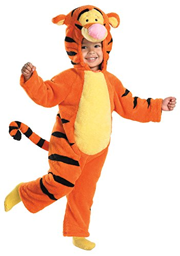 Toddler Tigger Costume 2t (Baby-Toddler-Costume Tigger Deluxe Plush Toddler Costume 2T Halloween Costume)