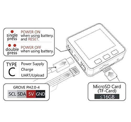 DollaTek M5 ESP32 Entwicklungsboard Kit WiFi Bluetooth Erweiterbar