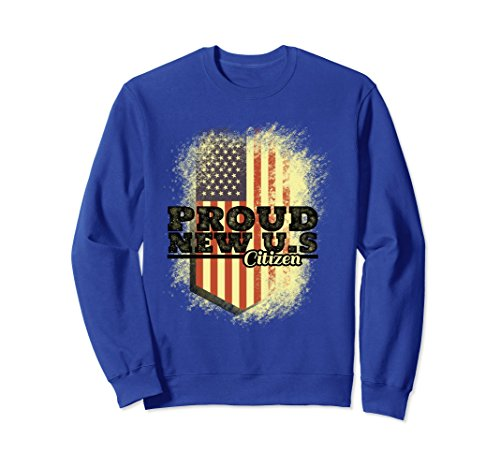 Unisex Proud New USA Citizen - Citizenship Day Sept Immigrants Gift 2XL Royal Blue (Citizenship Gift Ideas)