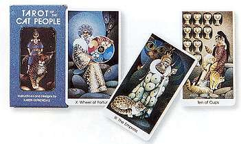 NEW Cat People tarot deck (Tarot Decks & Cards) by AzureGreen (Image #1)