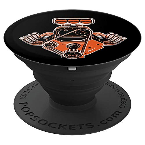 Engine Collectors - Racing Engine Car Collector - PopSockets Grip and Stand for Phones and Tablets