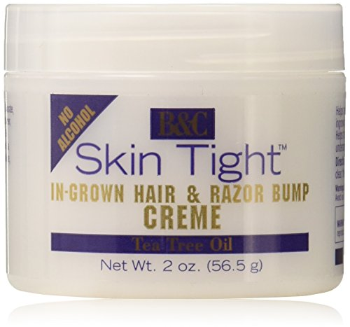 Skin Tight In-grown Hair & Razor Bump Creme, 2 Ounce (Best Ointment For Razor Bumps)