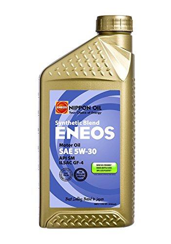 Oil Engine Eneos (Eneos 5w-30 QT Synthetic BLEND Motor Oil - 1 Quart Bottle)