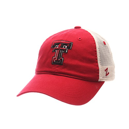 NCAA Texas Tech Red Raiders Adult Men University Relaxed Cap, Adjustable, Team -