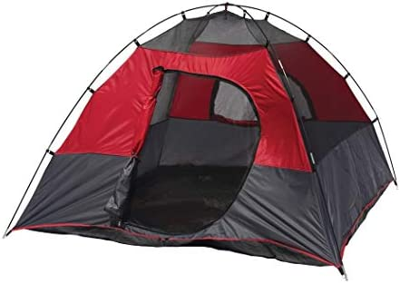 Texsport Lost Lake Square Dome Camping Outdoor Tent, Molten Lava Grey