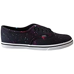 Vans Authentic Lo Pro Women Shoes Cosmic Black/true White (4 US Men-5.5 US Women)