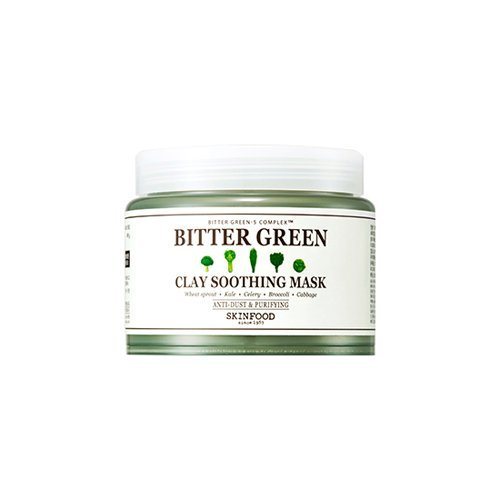 Skin-Food-Bitter-Green-Clay-Soothing-Mask