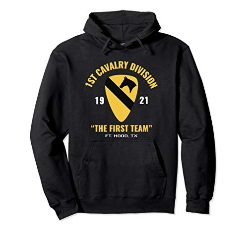 1st Cavalry First Team T-shirt - 1st Cavalry Scouts The First Team Hoodie
