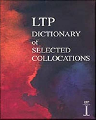 Ltp Dictionary Of Selected Collocations Pdf