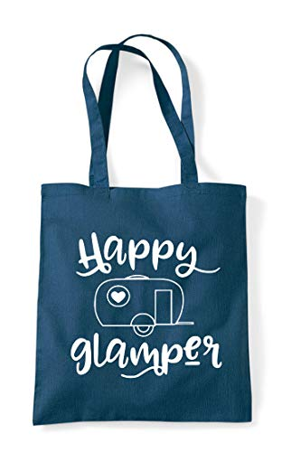 Happy Bag Campervan Statement Shopper Camping Tote Camper Petrol wTrR148qwx