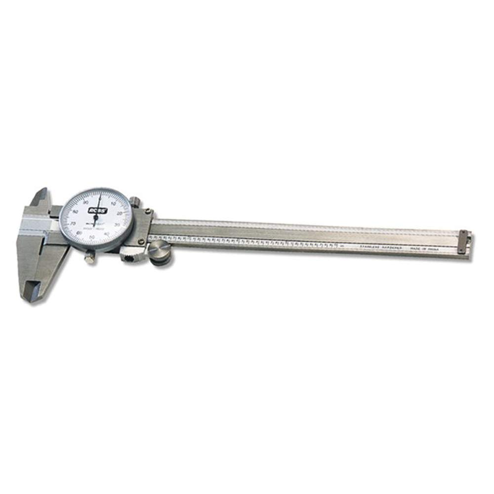 RCBS Four Way Measurement Stainless Steel 87305 Dial Caliper 6 Capacity