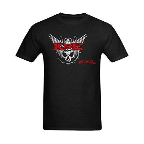 Definite Myself Men's Killswitch Engage Band Logo Art Design T-Shirt - Cute Tee US Size -