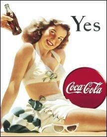 (Coca-Cola Tin Sign 13 x 16in)