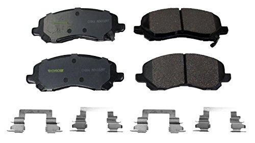 - Monroe CX866 Ceramic Premium Brake Pad Set