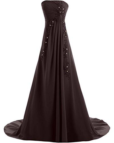 Missdressy - Vestido - trapecio - para mujer marrón 34