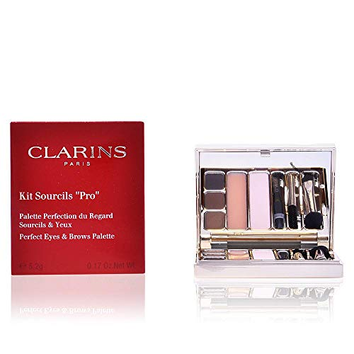 Clarins Kit Sourcils Pro Perfect Eyes and Brows Palette, 0.17 Ounce