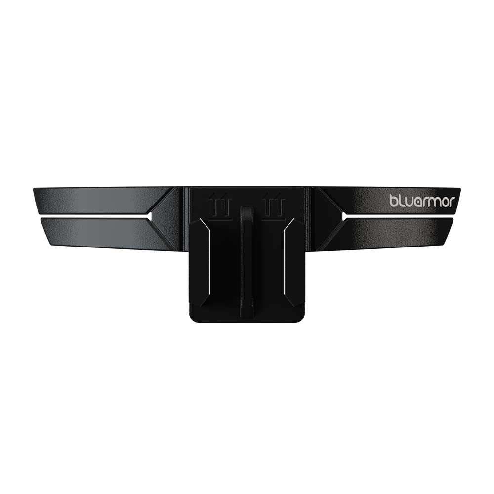 BluArmor Action-cam Compatible Chin Mount for Motorcycle Helmets