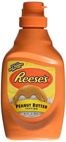 Reese's Peanut Butter Dessert Topping (7oz Bottles) 2 Pack