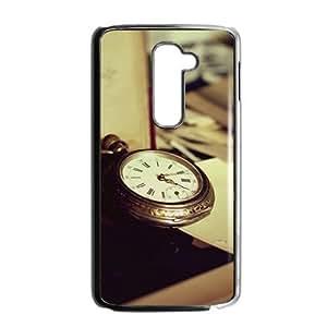 Artistic watch design fashion phone case for LG G2