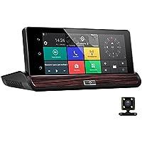 Phisung V50 Full Hd Car Mirror Dash Cam Rear View Mirror,Car DVR GPS 3G Android 7 Inch Touch Screen Dual Camera Wifi Auto Camera