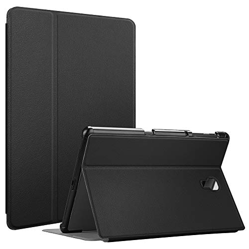 Fintie Case for Samsung Galaxy Tab A 10.5 2018 Model SM-T590/T595/T597, [Slim Shell] Lightweight Multi-Angle Viewing Folio Cover with Auto Sleep/Wake Feature, Black