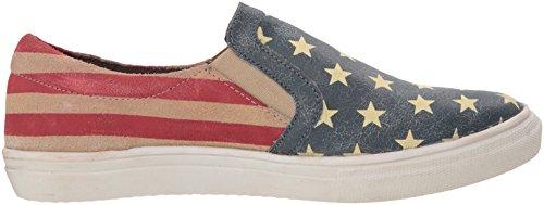 Blu Beauty Roper Su Donne Sneaker Slittamento Delle American IdqYq