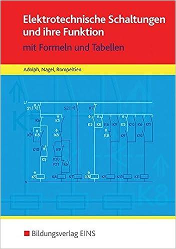 Tabellenbücher / Formelsammlungen Elektroberufe: Elektrotechnische ...
