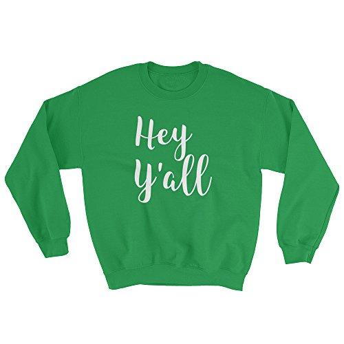 Southern Thread (Get Thread Hey Y'all - Unisex Southern Greeting Crewneck Sweatshirt)